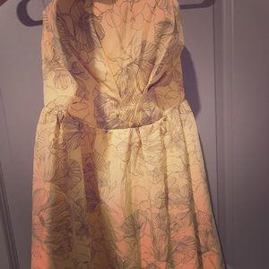 Trixxi Strapless Dress